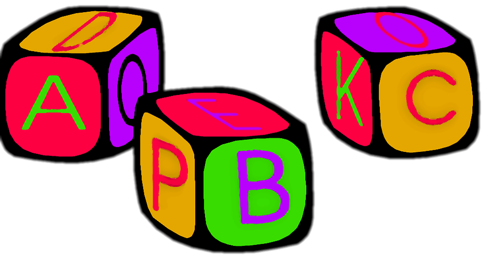 Abc, A, B, C, Blocks, Children, Play, Toy - Abc PNG