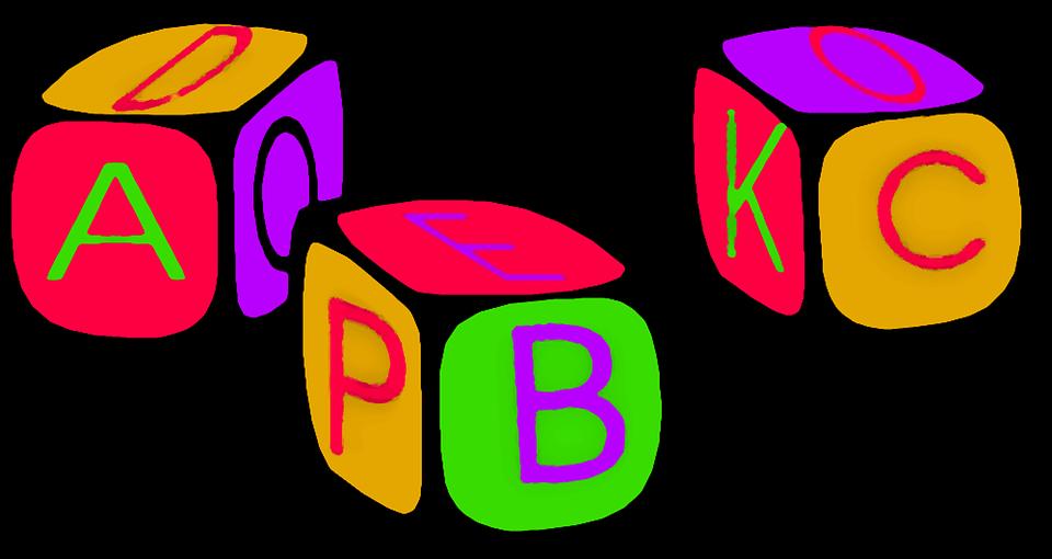 Abc, A, B, C, Blocks, Childre