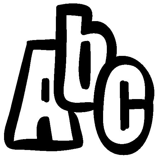 abc alphabet png image - Abc PNG