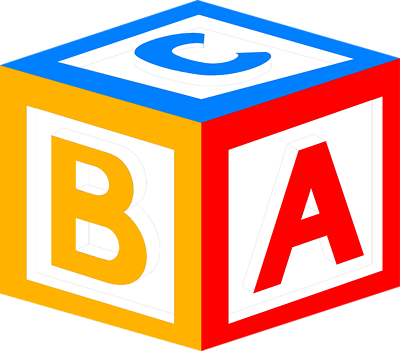 pin Cube clipart abc #11 - Abc PNG