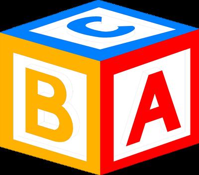 pin Cube clipart abc #11