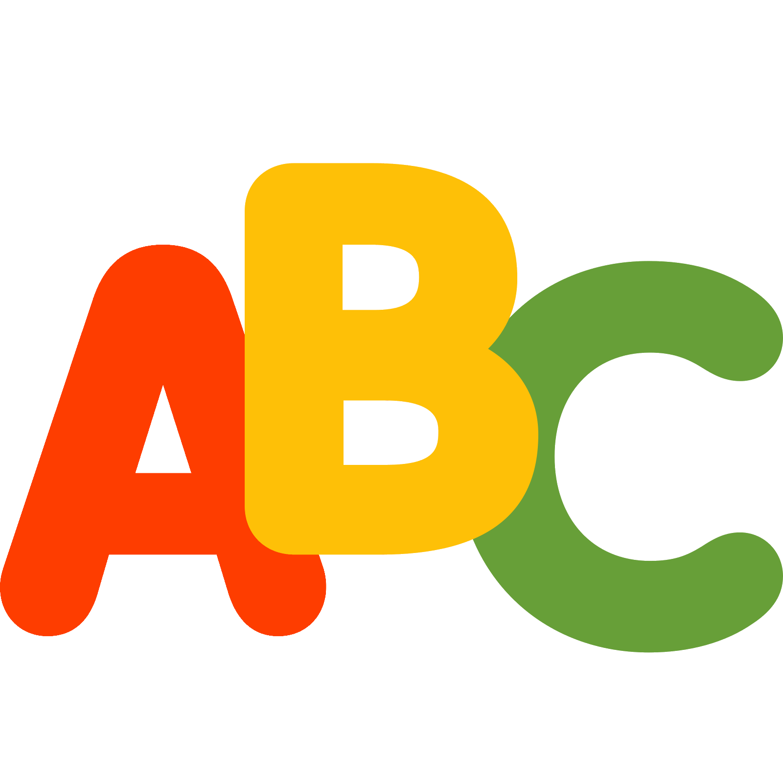 Abc Vector PNG - 103260