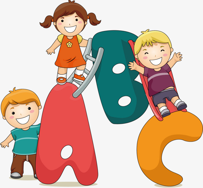 Childrenu0027s cartoon creative, Child, Abc, Cartoon Characters Free PNG and  Vector - Abc Vector PNG