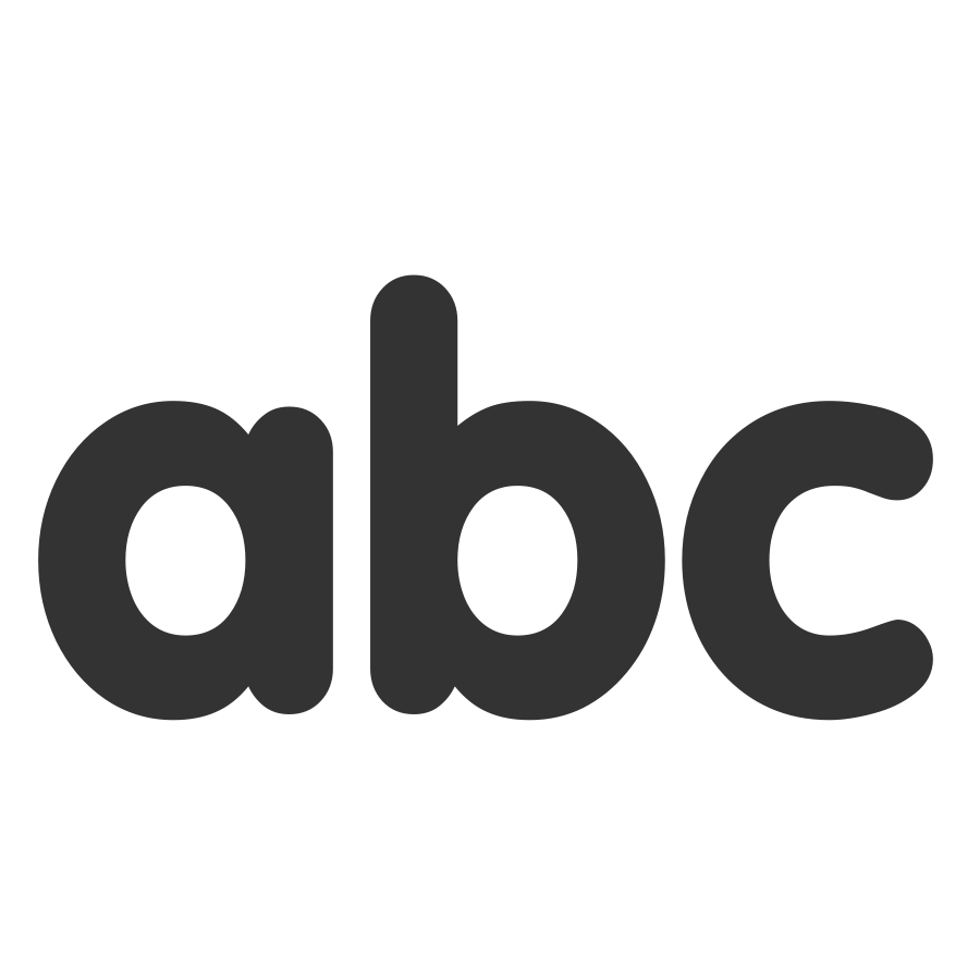 Abc Vector PNG