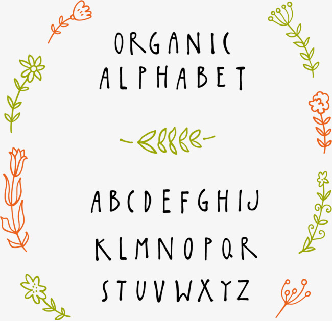 Hand-painted English WordArt Free PNG and Vector - Abh Vector PNG