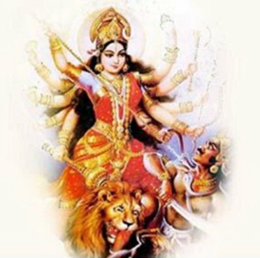 About Durga Puja Dates In 2014 - Goddess Durga Maa PNG
