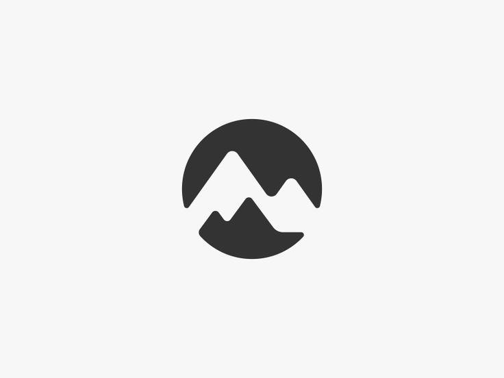 Mountain Range Logo Design by Dalius Stuoka - Aboutdesign Logo PNG