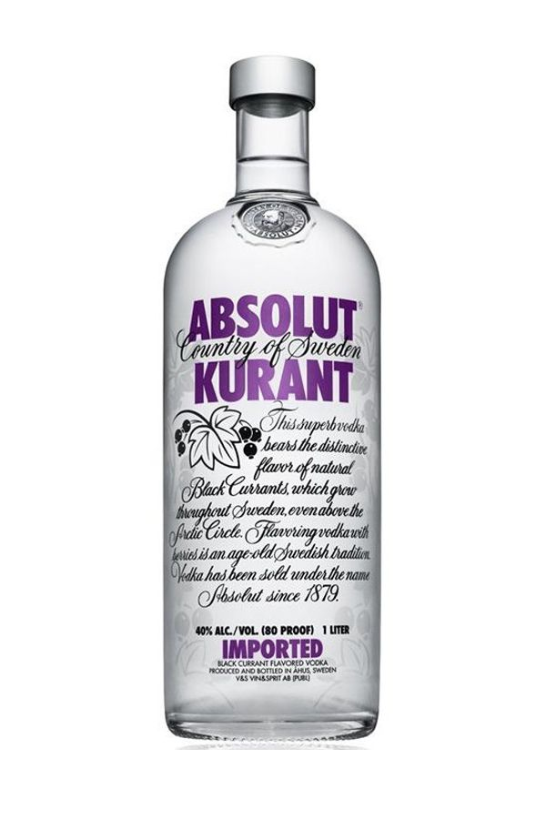 Absolut¢ç Kurant Vodka Send