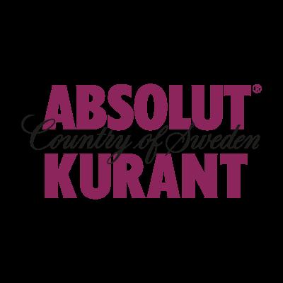 Absolut Kurant Logo PNG