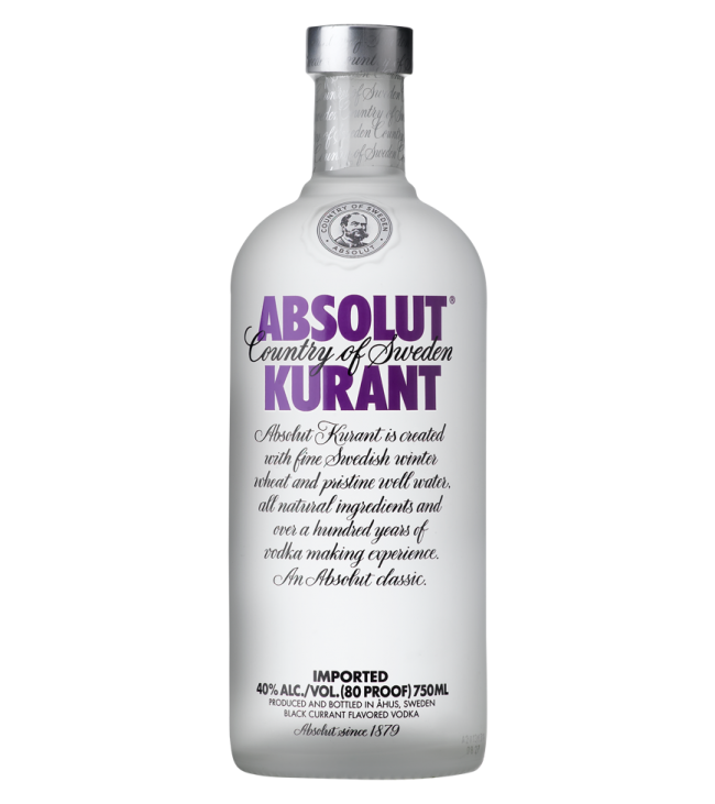 absolut kurant 75cl 75cl - Absolut Kurant Vector PNG