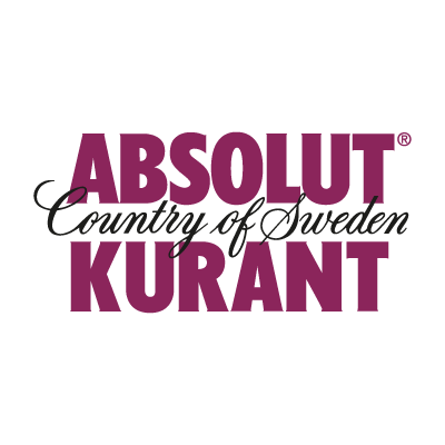 Absolut Kurant Vector PNG