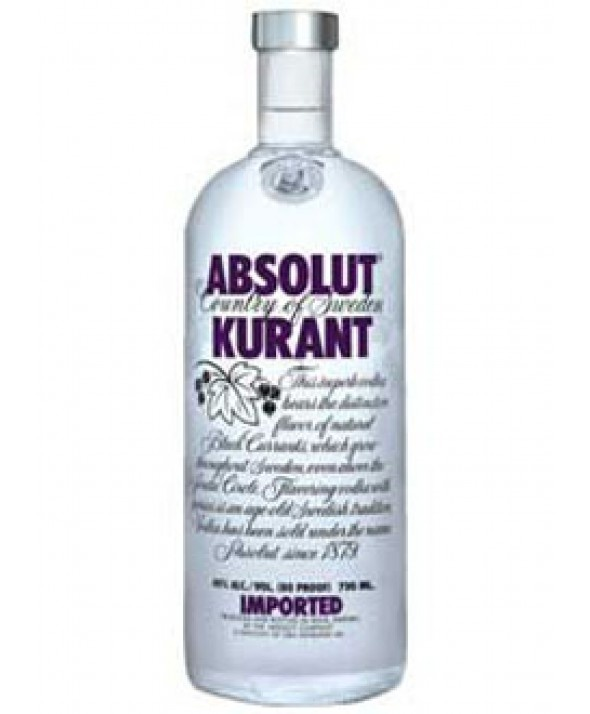 . PlusPng.com Absolut Kurant Vodka 1,0 Liter - Absolut Kurant Vector PNG