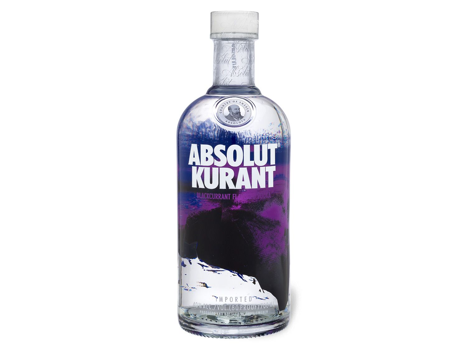 absolut vodka absolut kurant flavou. vodka lidl - Absolut Kurant Vector PNG