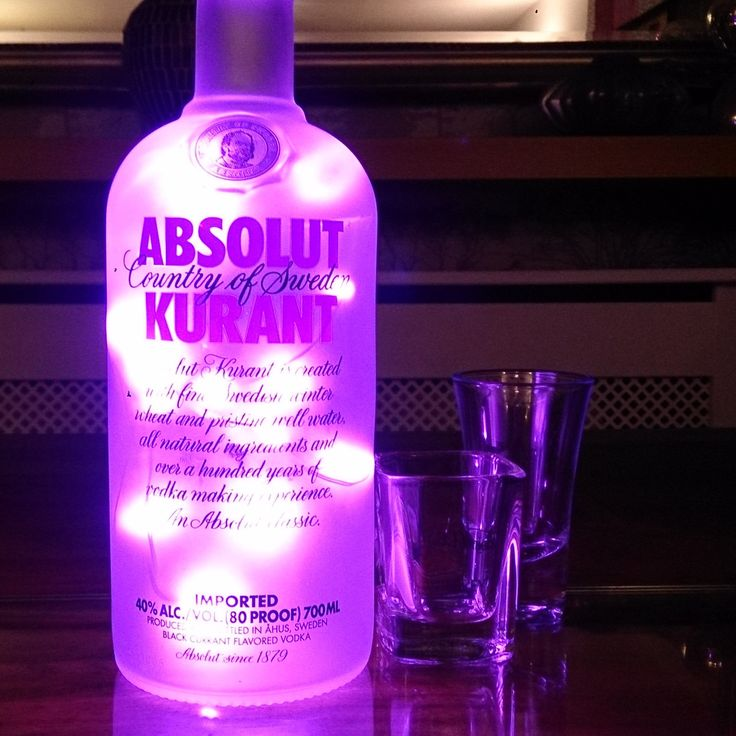 Cocktail party lighting. PlusPng.com Quite Literally :). Upcycled Absolut Kurant  Bottle Lamp - Absolut Kurant Vector PNG