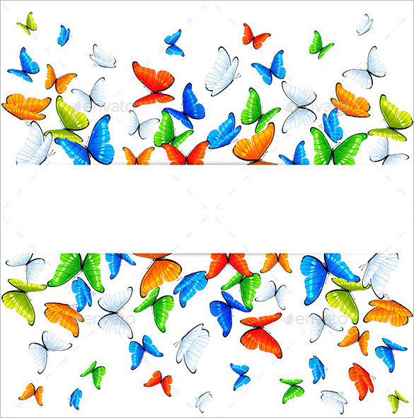 Abstract Butterfly Background Premium Download - Butterfly Design PNG