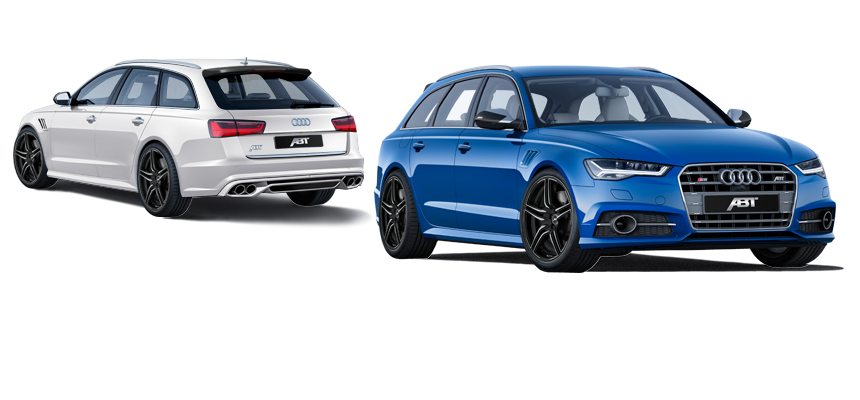 Audi A6. ABT CAR MODELS - Abt Sportsline PNG