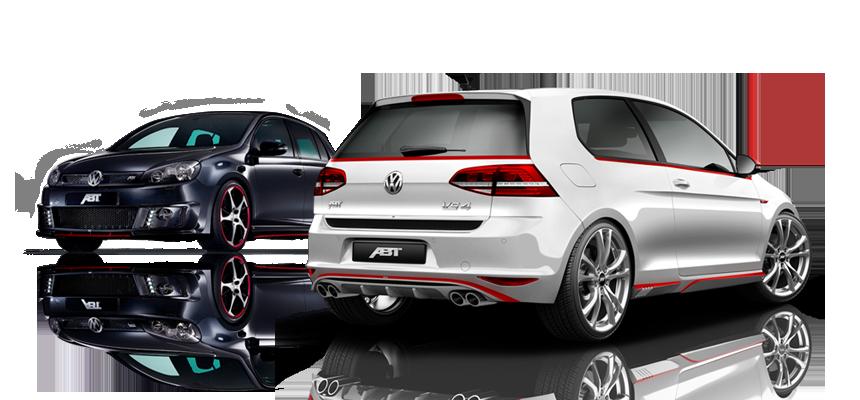 VW Golf VII. ABT CAR MODELS - Abt Sportsline PNG