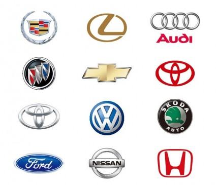 12 Automobile Logos Vector - Accent Auto Logo Vector PNG