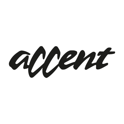 Accent Vector Logo . - Accent Auto Logo Vector PNG