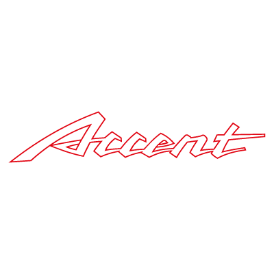 Accent Auto vector logo . - Accent Auto Vector PNG
