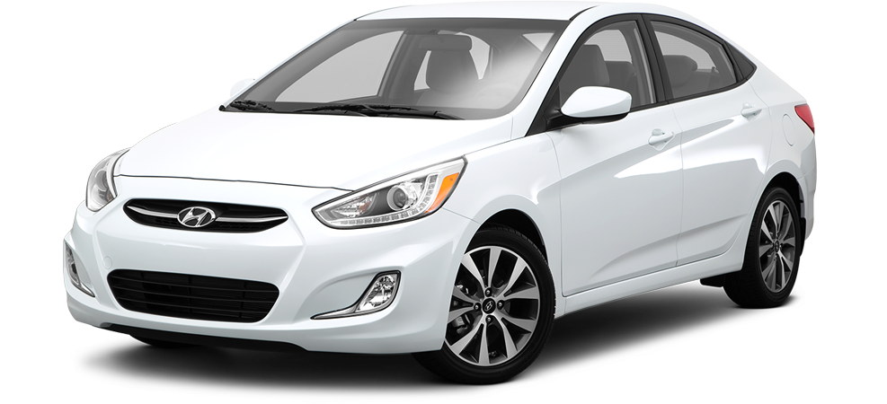 Hyundai Accent- car rental - Accent Auto Vector PNG