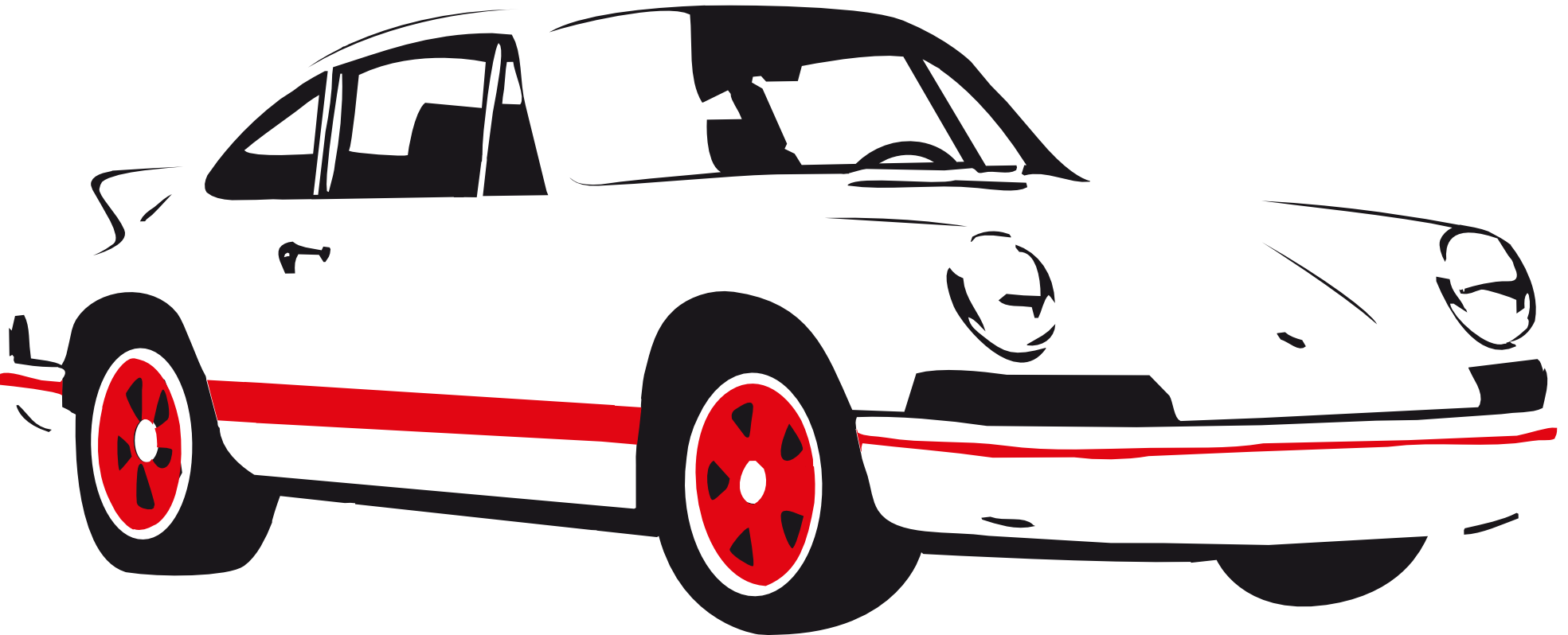 pin White clipart ferrari #8 - Accent Auto Vector PNG
