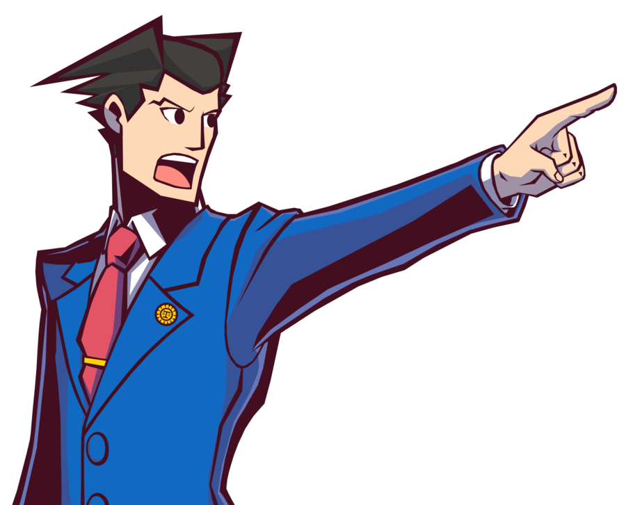 Ace Attorney Favourites By Novashenron - Ace Attorney PNG