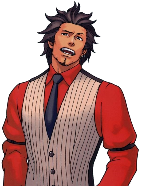 Diego.png - Ace Attorney HD PNG