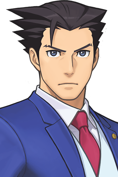 Image - Phoenix Wright Portrait AA6.png | Ace Attorney Wiki | FANDOM  powered by Wikia - Ace Attorney HD PNG