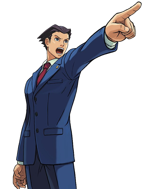 Trilogy Phoenix Point.png - Ace Attorney HD PNG