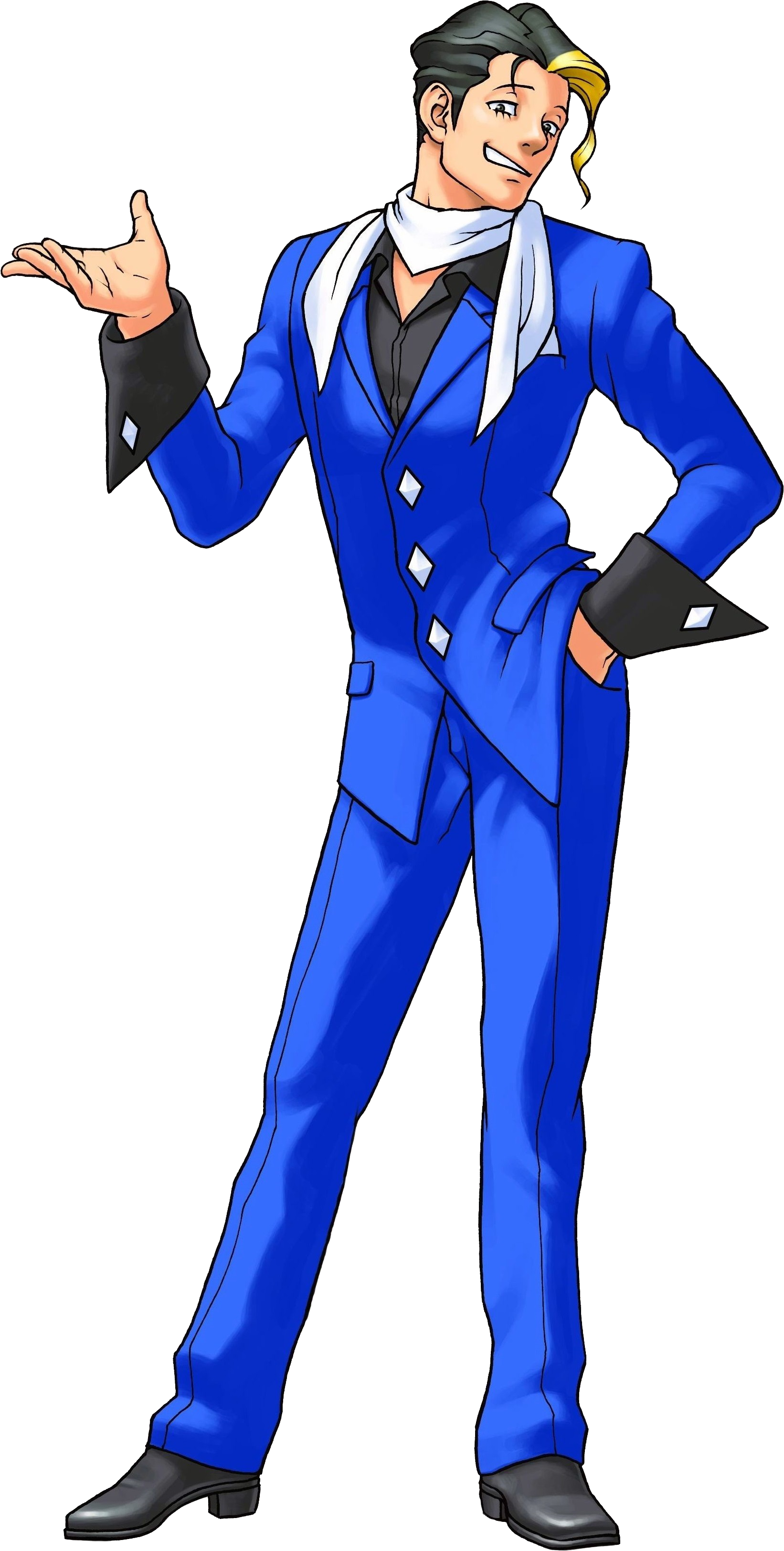 Wellington.png - Ace Attorney HD PNG