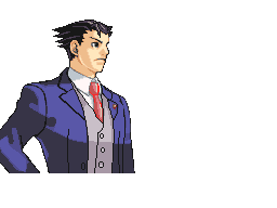 Ace Attorney 5 Phoenix Wright by MilekHippy PlusPng.com  - Ace Attorney PNG