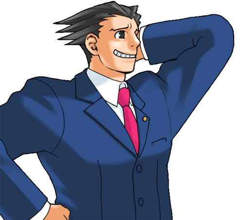 Ace Attorney PNG - 173156
