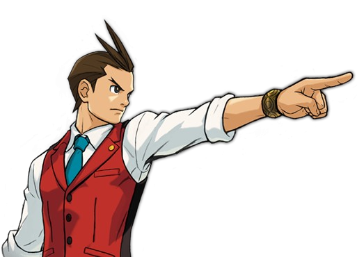 Ace Attorney PNG - 173167