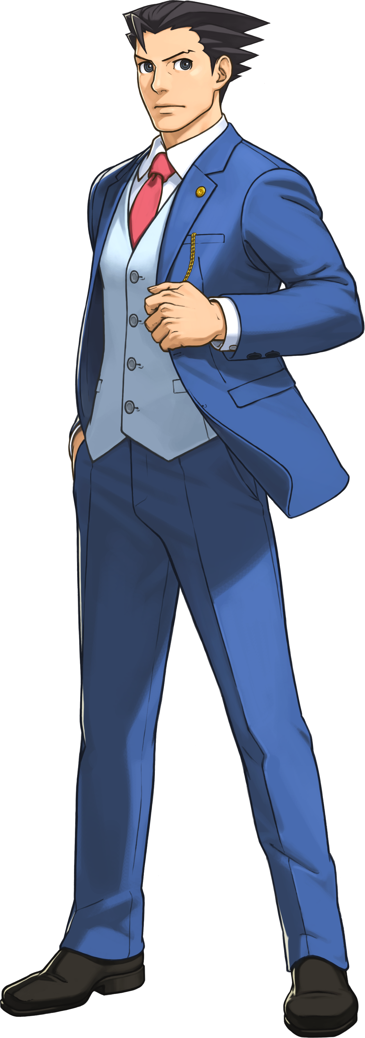 Ace Attorney Transparent - Ace Attorney PNG