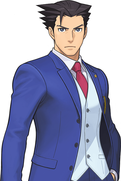 Characters - Ace Attorney PNG