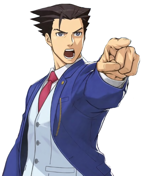 Iu0027ve been replaying several of these games in the last few months. Trials  and Tribulations, Apollo Justice and most of Investigations. - Ace Attorney PNG