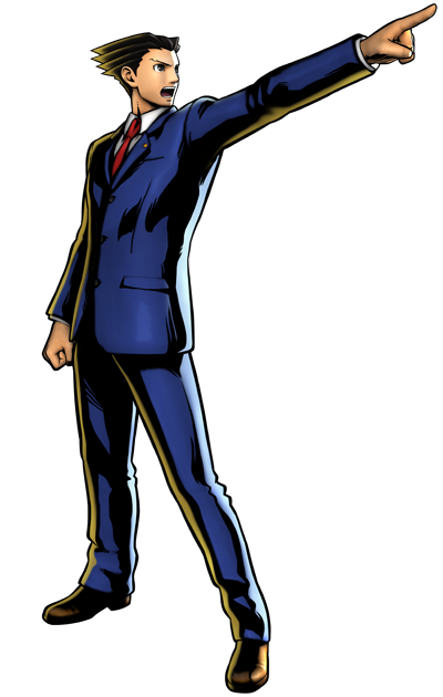Phoenix-wright.png - Ace Attorney PNG