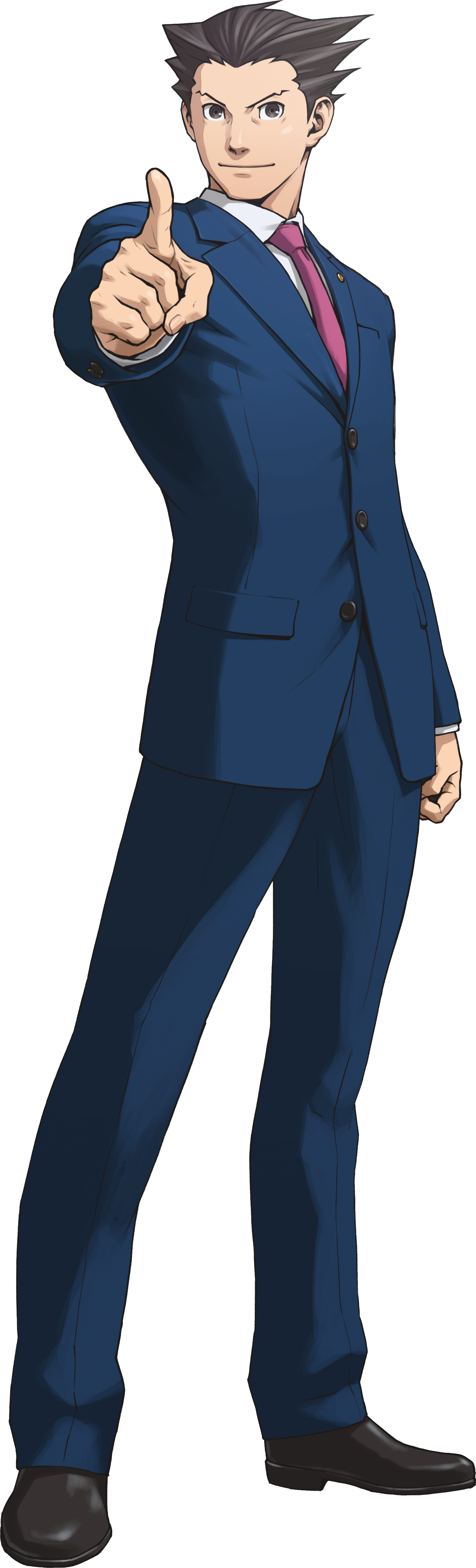 Phoenix Wright Trilogy Art.png - Ace Attorney PNG