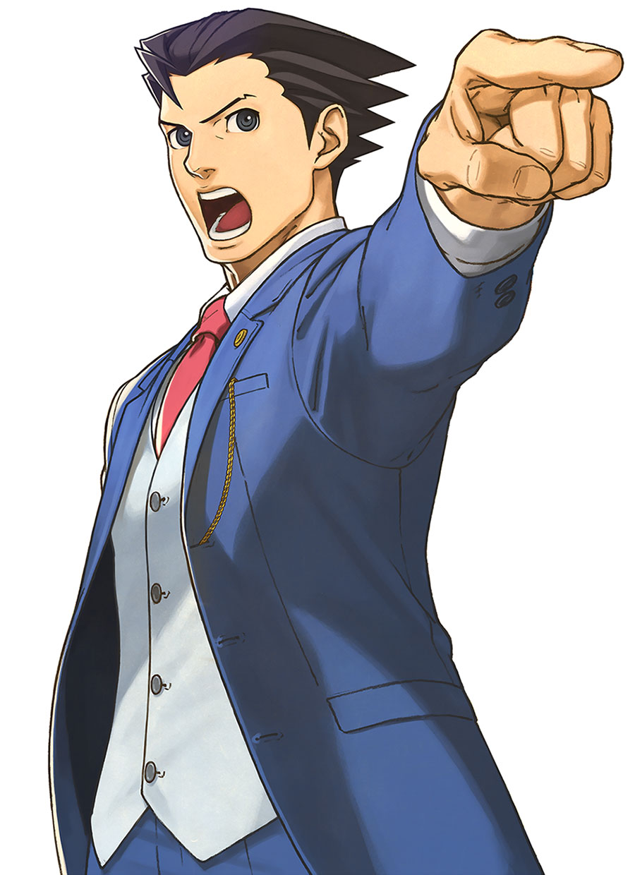 Ace Attorney PNG - 173154
