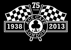 ACE 75th Logo - Ace Cafe London Logo PNG