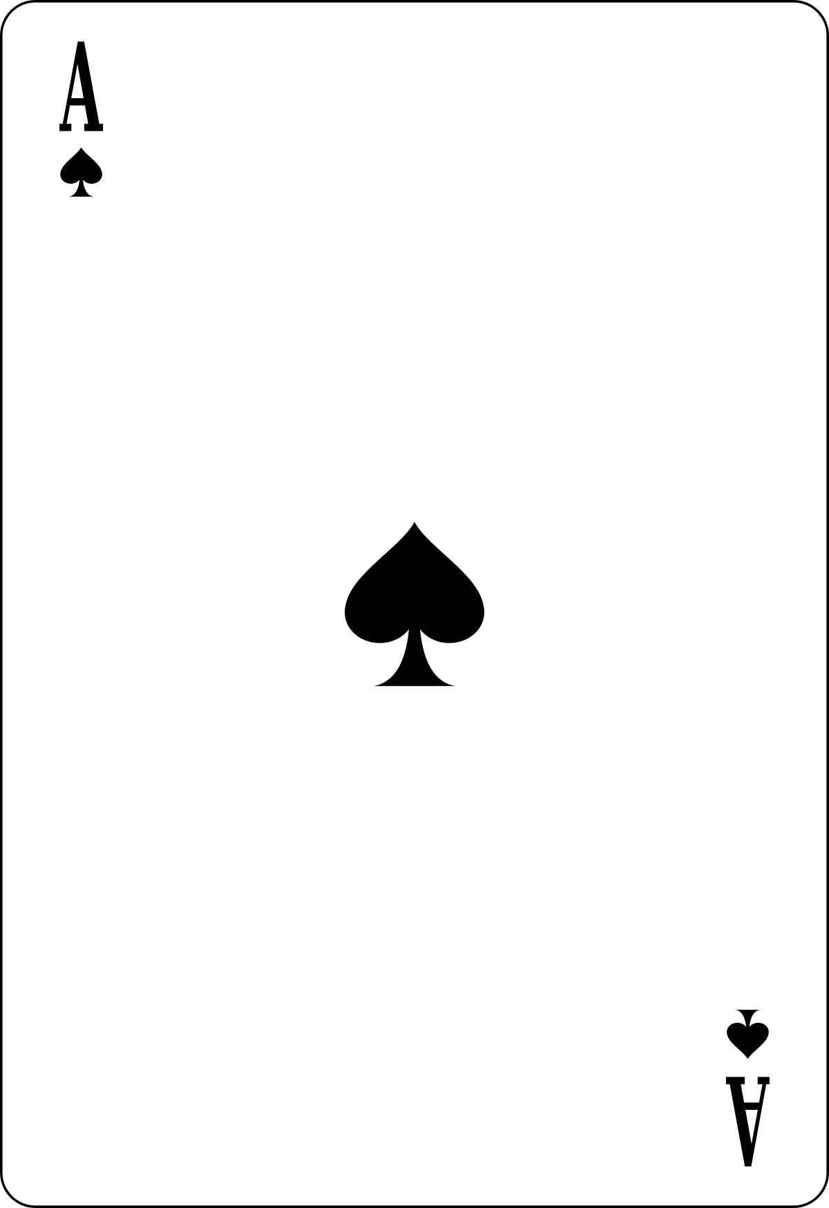 Ace Card PNG - 25986