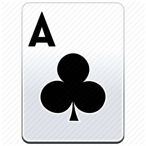a, ace, aces, card, casino, clubs, deck, poker icon - Ace Card PNG