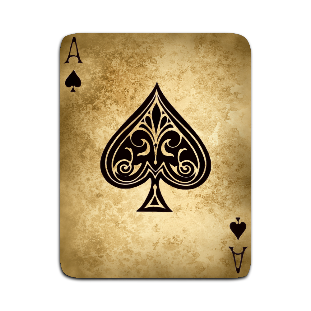 Filename: ace-of-spades2.png - Ace Card PNG