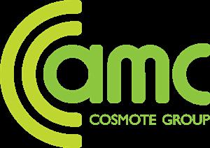 AMC Albanian Mobile Communications Logo. Format: EPS - Acotel Group Logo Vector PNG