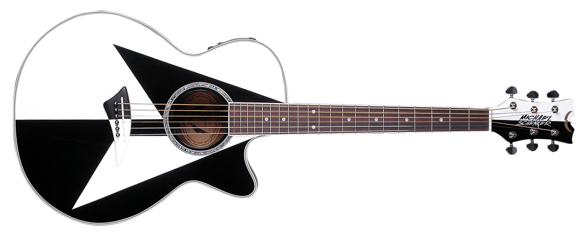 Acoustic Guitar PNG Black And White - 171066