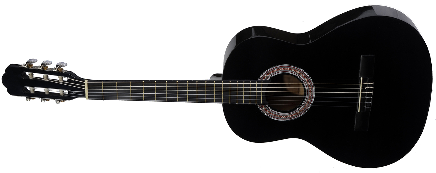 Acoustic Guitar PNG Black And White - 171053