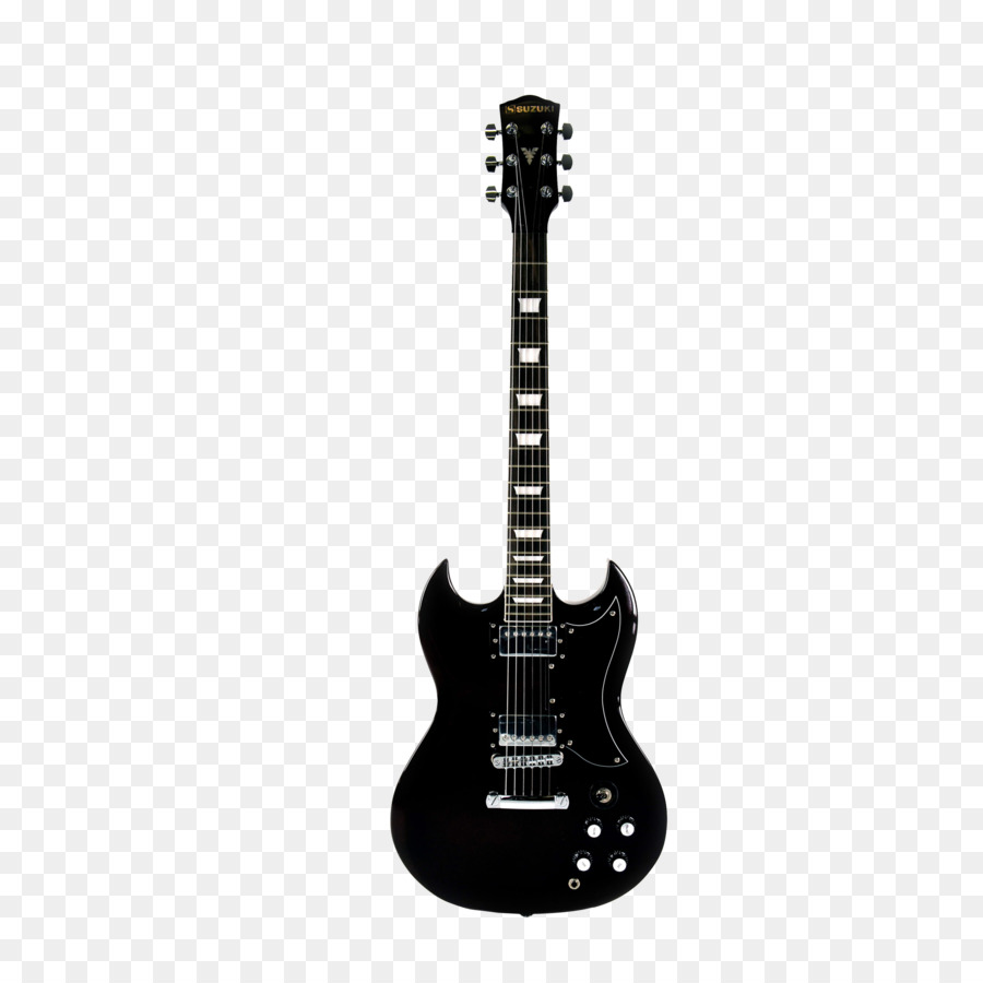 Acoustic Guitar PNG Black And White - 171065