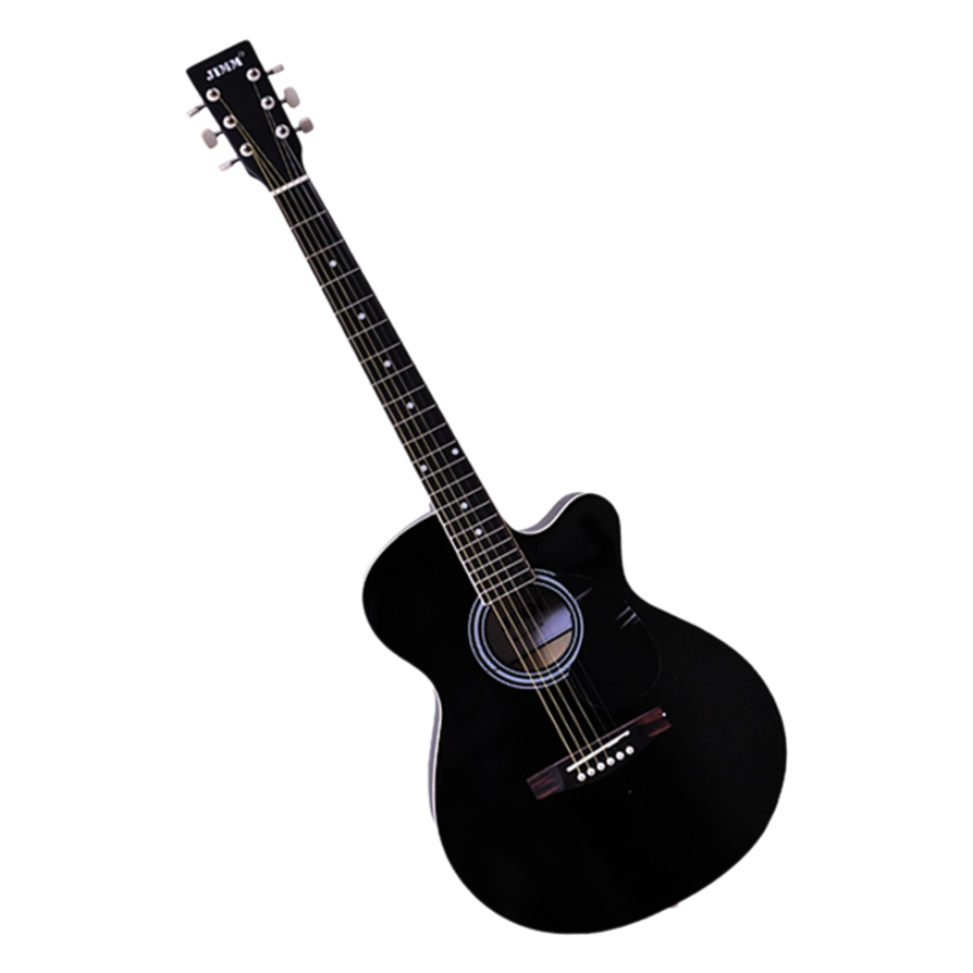 Acoustic Guitar PNG Black And White - 171068