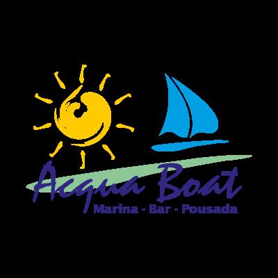 Acqua Boat Logo Vector PNG